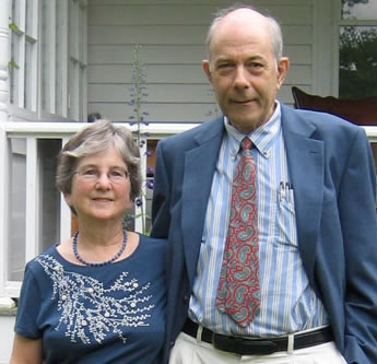 Eleanor and Peter Richardson